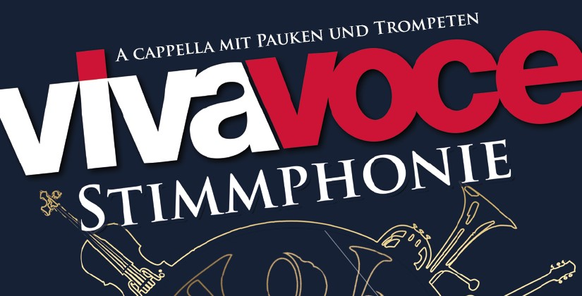 Stimmphonie – a cappella mit Pauken und Trompeten